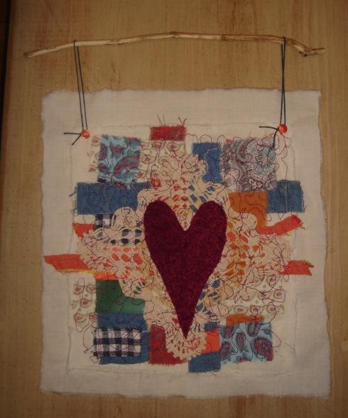 a heart for E.