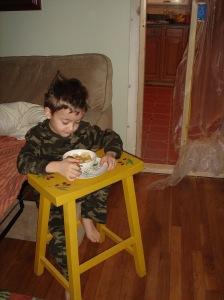 logan eating